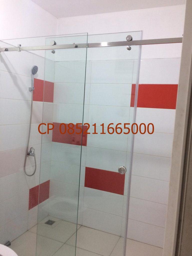 Pintu kaca shower Sliding