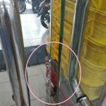 pintu kaca pecah